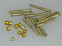 "10 x 1/4"" Pin Rivets Countersunk With Rivnuts Length 2 1/8"" [C5]"
